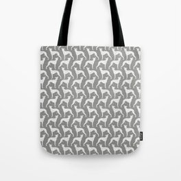 Whippet Silhouette(s) Tote Bag