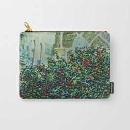Holly Bush Carry-All Pouch