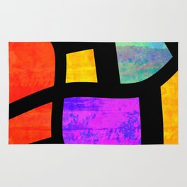All the Right Angles, Abstract Art Rug