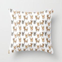 Chihuahua, chihuahuas Throw Pillow