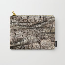 Palm Bark Texture Carry-All Pouch