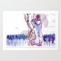 Akt Art Art Print