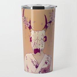Sakura Lady Travel Mug