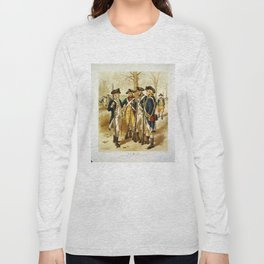 Infantry: Continental Army 1779-1783 by H.A. Ogden (1879) Long Sleeve T-shirt