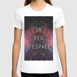 a little bit of space T-shirt
