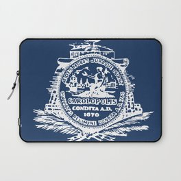 flag of Charleston Laptop Sleeve