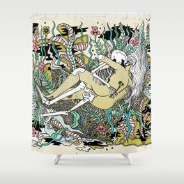 You in Everything Shower Curtain