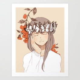 Fragile Beauty Art Print