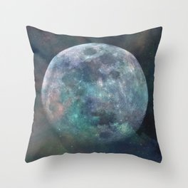 Solstice Moon Throw Pillow