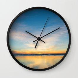 Manzanita Sunset Wall Clock