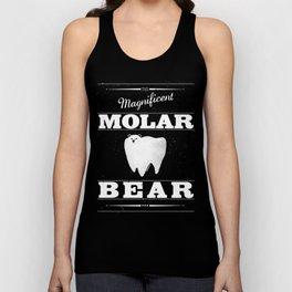 Molar Bear (Gentlemen's Edition) Unisex Tank Top