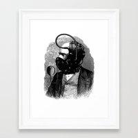 bdsm Framed Art Prints featuring BDSM X by DIVIDUS