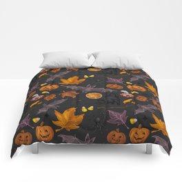 October pattern Comforters