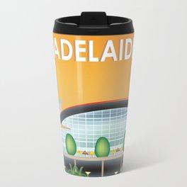 Adelaide, Australia - Skyline Illustration by Loose Petals Travel Mug