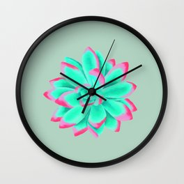 Desert flower nr 1 Wall Clock