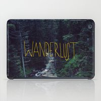 marina and the diamonds iPad Cases featuring Wanderlust: Rainier Creek by Leah Flores