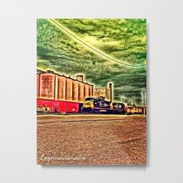 KINGSPORT, TN - TRAIN 002 Metal Print