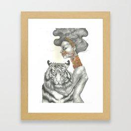 Tigress Framed Art Print