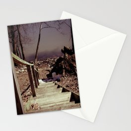 Walking The Murky Waters Stationery Cards