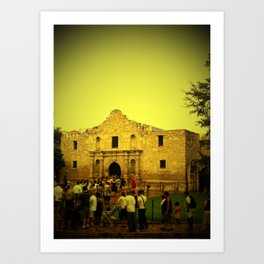 Remember the Alamo Art Print