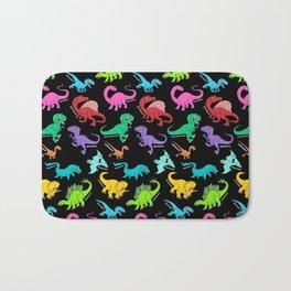 Rainbow dinosaurs Bath Mat