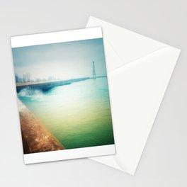 Montrose Harbor Beacon Stationery Cards
