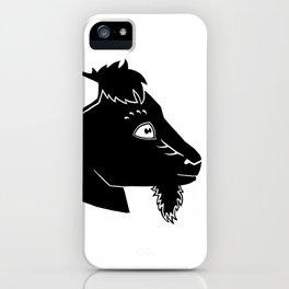 Mr. Gruff iPhone Case