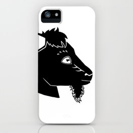 Mr. Gruff iPhone Case