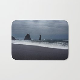Pinnacles at Black Sand Beach Bath Mat