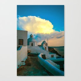 Island beauty Canvas Print