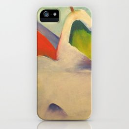 "Franz Marc ""Haystacks in the Snow"" iPhone Case"