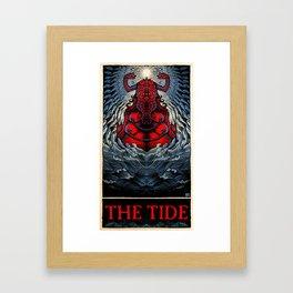 The Tide (color) Framed Art Print
