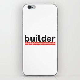 builder iPhone Skin