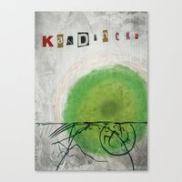 kandinsky Canvas Prints featuring kandinsky inspired art by Easyposters