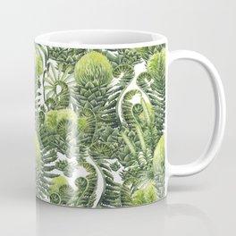 Watercolor prehistoric plants Coffee Mug