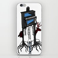 piano iPhone & iPod Skins featuring piano by JBLITTLEMONSTERS