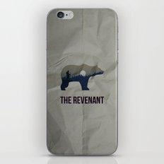 The Revenant Vector Portrait iPhone & iPod Skin