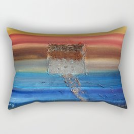 Of the Earth 3 by Nadia J Art Rectangular Pillow