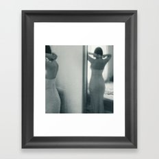 luck be a lady Framed Art Print