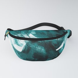 Abstract Artwork Petrol #1 Fanny Pack
