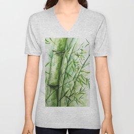 Bamboo Unisex V-Neck