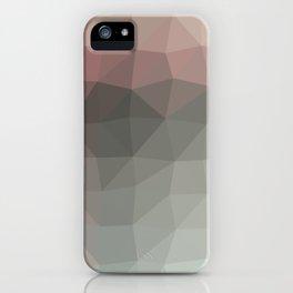 Geometric reds | Pattern modern | Future decor design iPhone Case