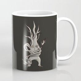 Creepy Tree Creature With Tangled Branches Coffee Mug