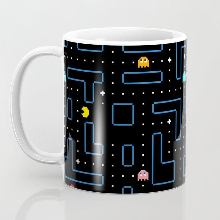 Pac-Man Retro Arcade Gaming Design Coffee Mug