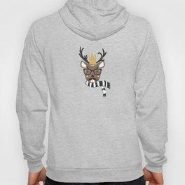 Holiday Deer Illustration Hoody