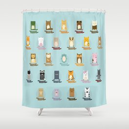 Alphabet Shower Curtain
