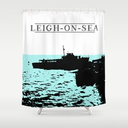 coming home Shower Curtain