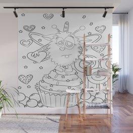 SugarPuff Wall Mural