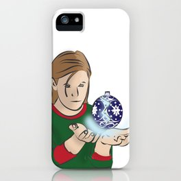 Just a Minor Mending - Christmas Edition iPhone Case