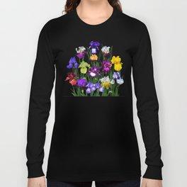 Iris garden Long Sleeve T-shirt